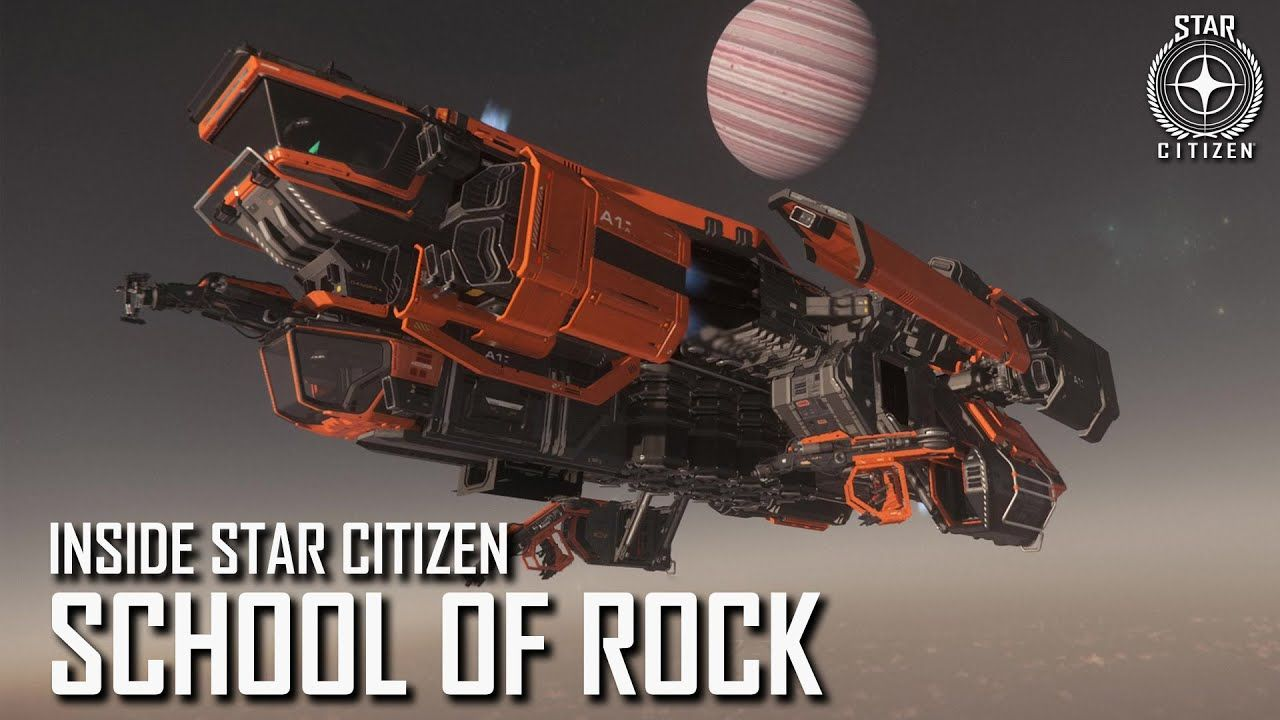 Inside Star Citizen - 19/12 - Ecole de minage