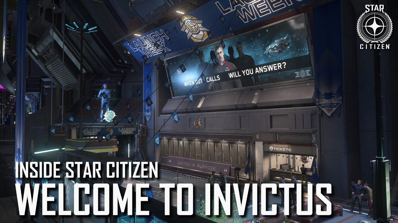 Inside Star Citizen - 21/05 - Bienvenue à l'Invictus !
