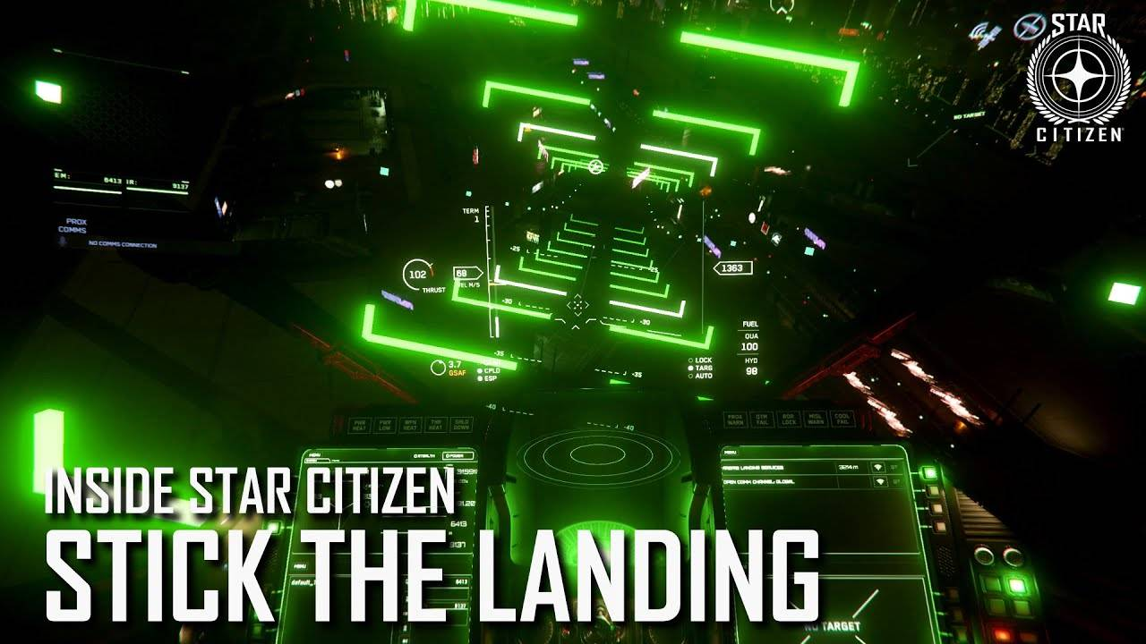 Inside Star Citizen - 04/06 - Guidage d'atterrissage