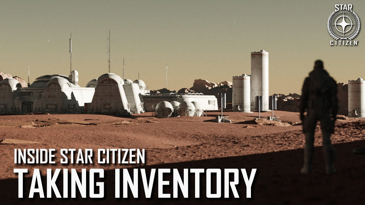 Inside Star Citizen - 17/09 - Nouvel inventaire
